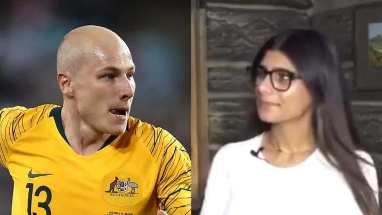 Mia Khalifa is a huge fan of Socceroos' star Aaron Mooy.