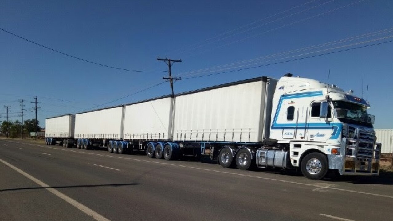Two truck trailers, like those pictured, were stolen from Burpengary and later found at Mackay.