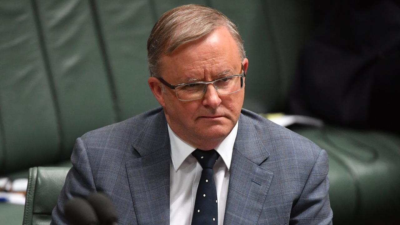 The report is sobering reading for federal Opposition Leader Anthony Albanese. Picture: AAP Image/Mick Tsikas