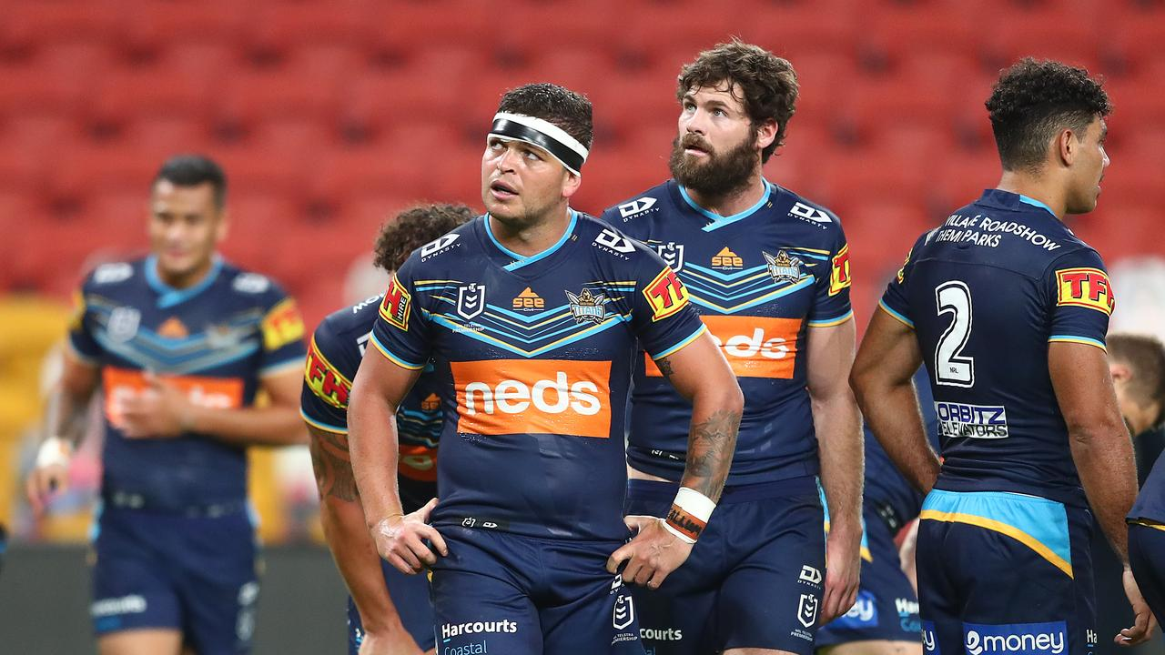 The Gold Coast Titans have hit out at suggestions they're soft and lazy. Picture: Getty
