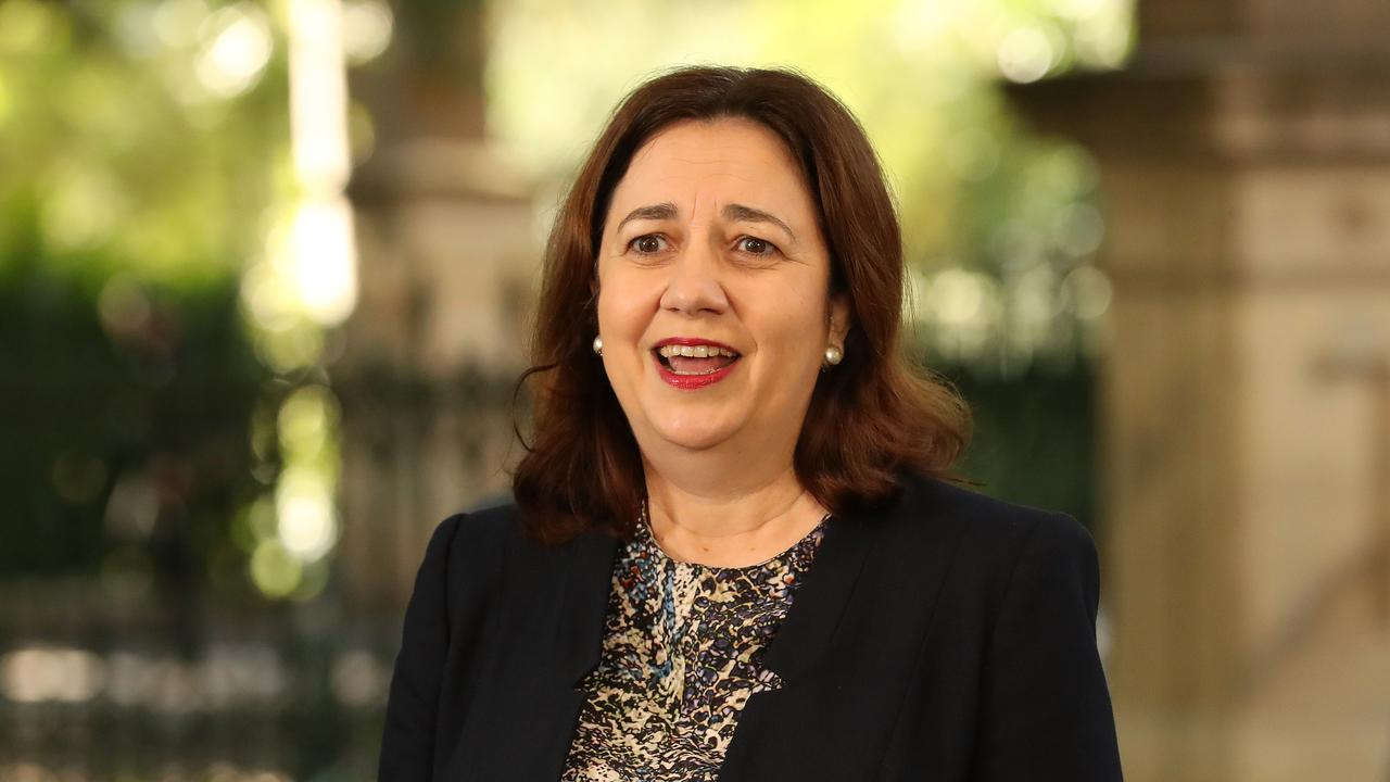 Premier Annastacia Palaszczuk said Queensland had lead the way with our health response and we were now well positioned for the recovery. Photographer: Liam Kidston