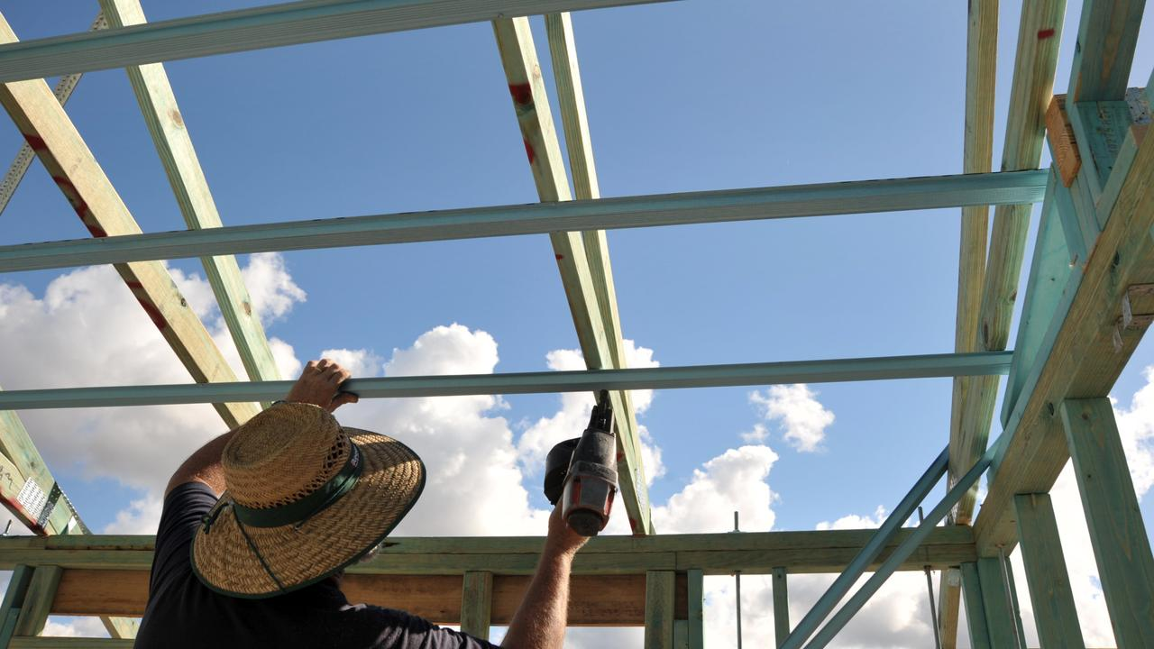 A $5000 regional home building boost will come on top of an existing first homeowners grant. File picture