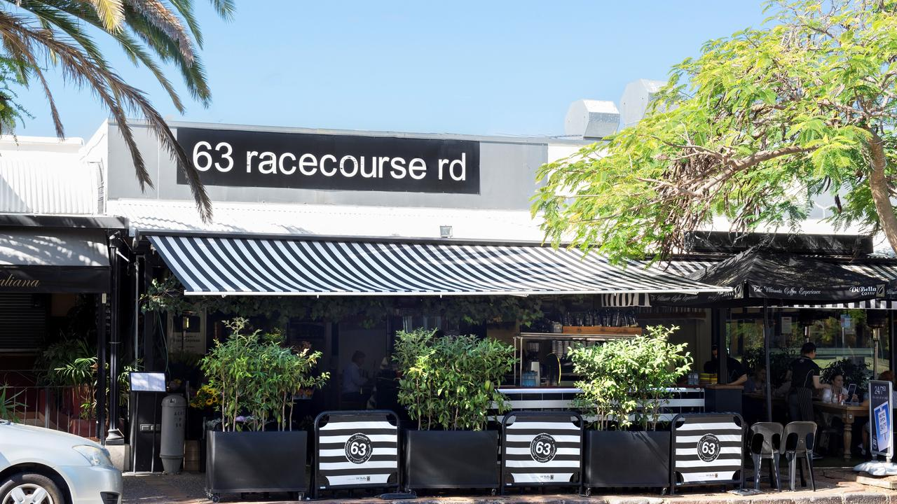The original Cafe 63, at 63 Racecourse Rd - pictured here in its heyday - closed its doors for good earlier this month.