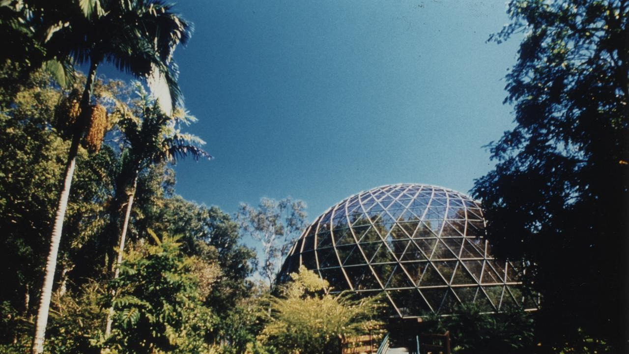 Jim Hindman Memorial Aviary at The Range's Rockhampton Botanic Gardens.