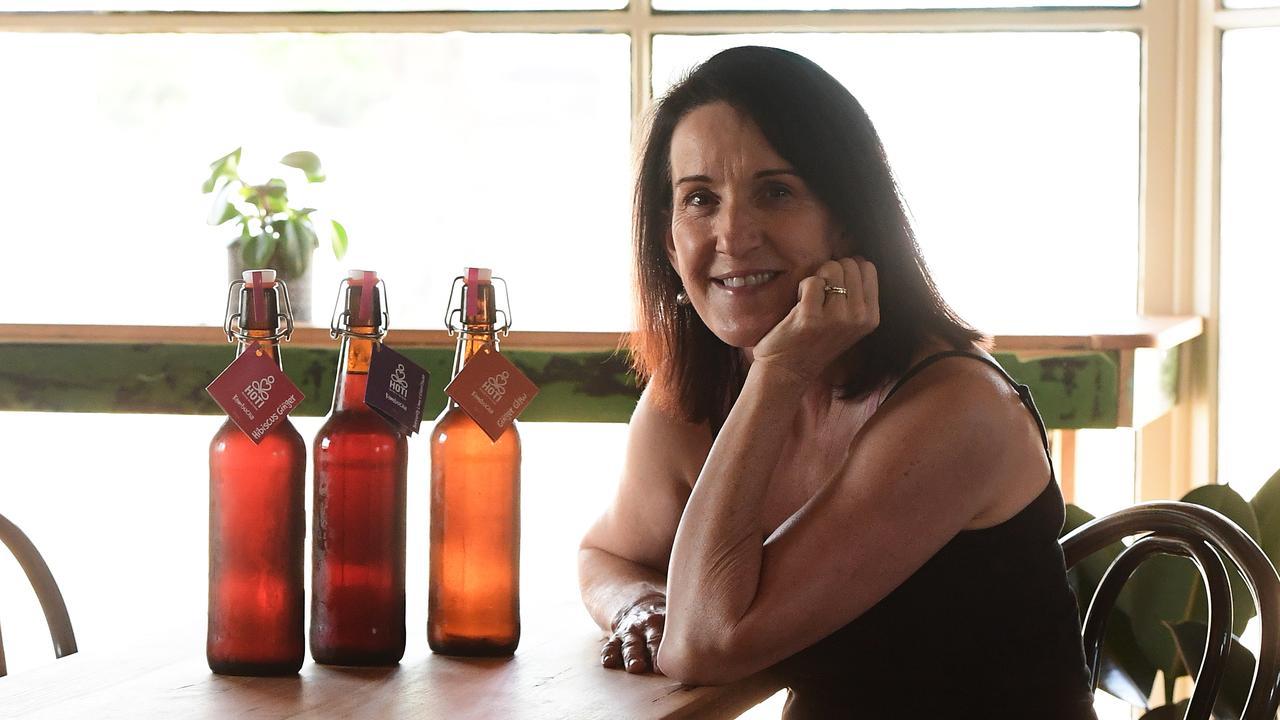 HOTI KOMBUCHA: Helen Tricarico has expanded her business.