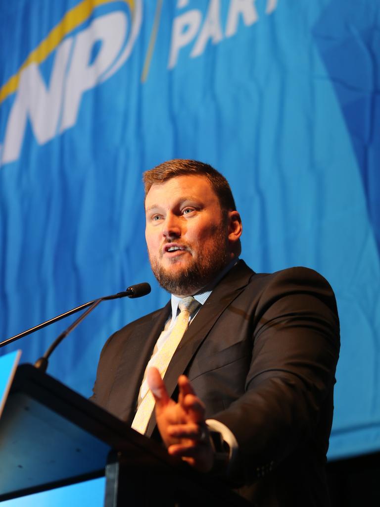 LNP President David Hutchinson. File picture
