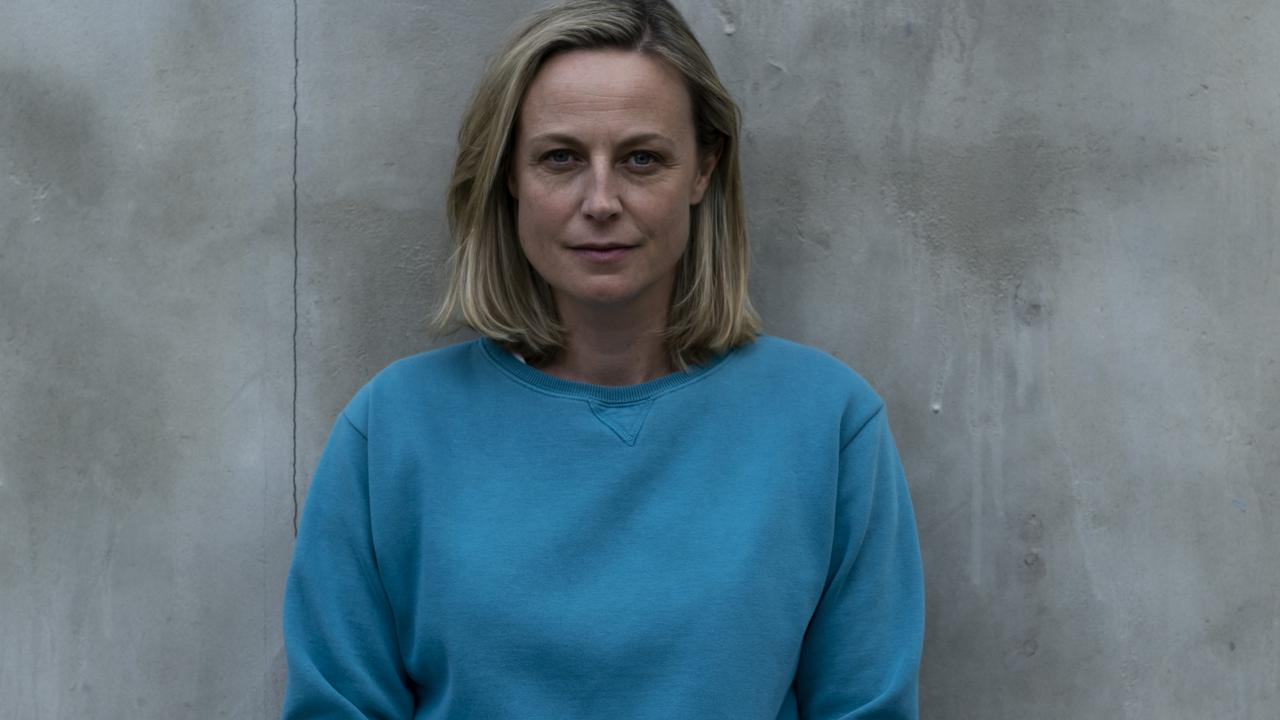 Marta Dusseldorp will pull on the teal tracksuit for the final two seasons of Foxtel's mega prison drama, Wentworth. Picture: Supplied