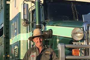Frasers Livestock Transport driver Jeff Clegg is the latest Bridgestone Bandag Highway Guardian.