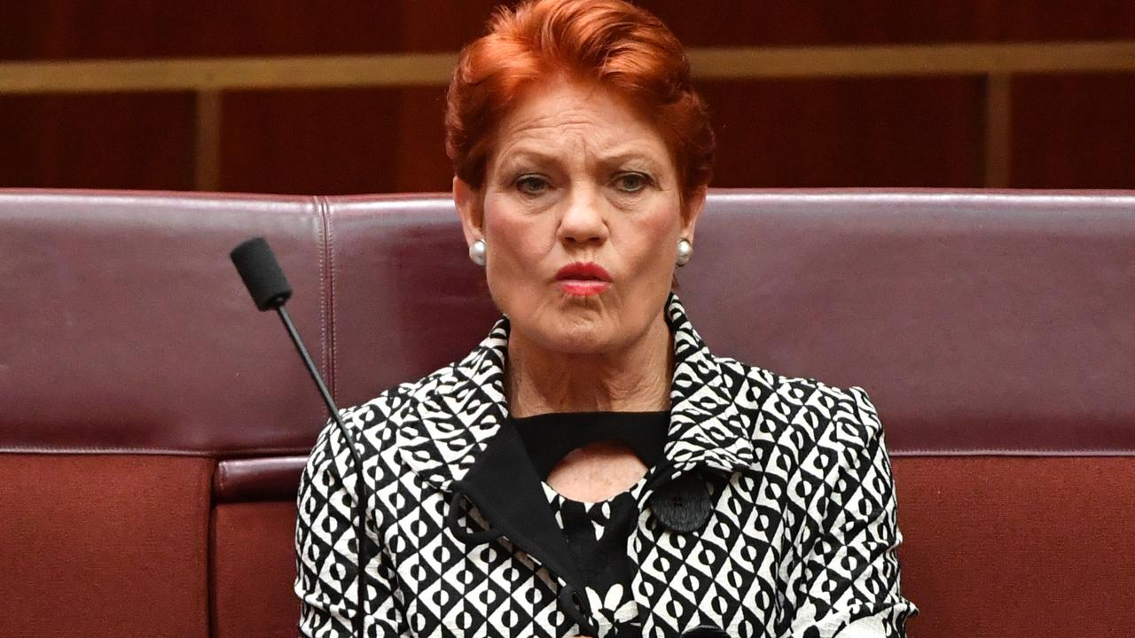 Pauline Hanson has delivered a blow to some Australians with a blunt and brutal response.