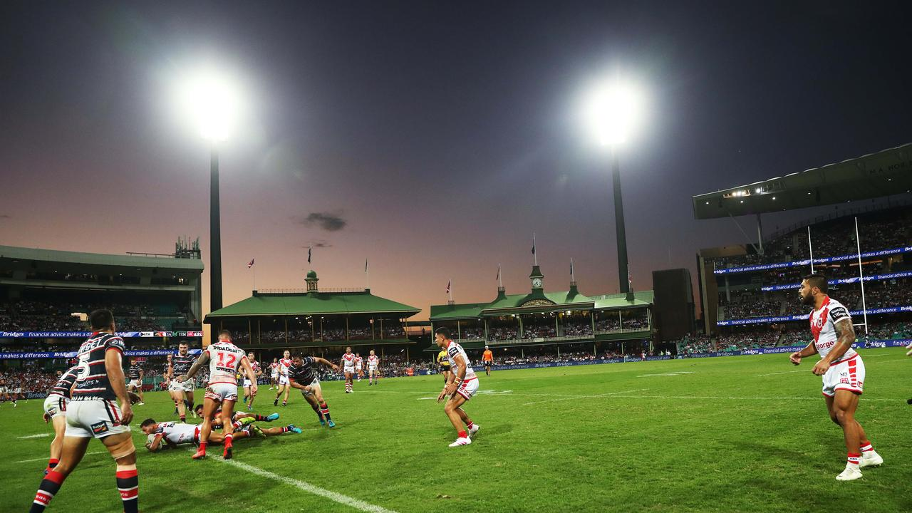 Rugby league has returned to the SCG in recent times. Picture: Phil Hillyard