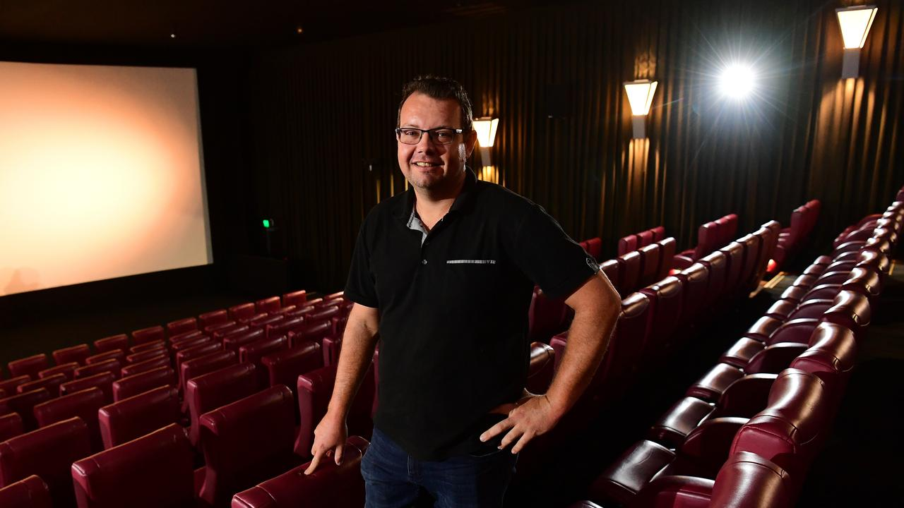 Reading Cinema complex manager Brent Abercrombie.