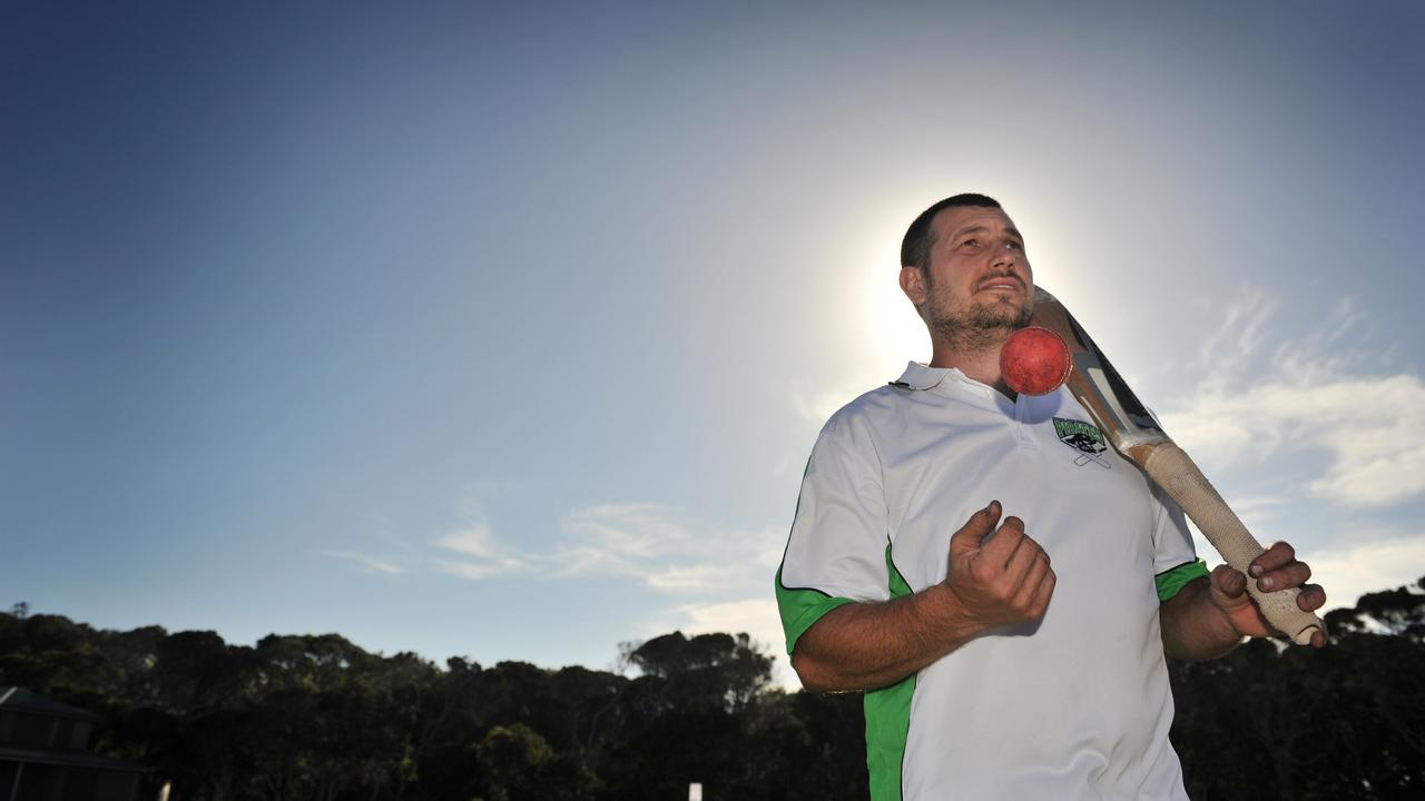 Lennox Head opening batsman Andrew Lindsay. Photo The Northern Star.
