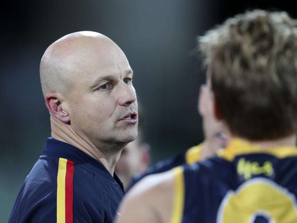 Matthew Nicks signed as the Adelaide Crows head coach in October 2019.