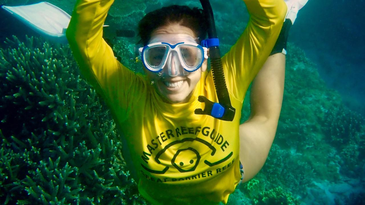 PASSION FOR THE REEF: Lady Musgrave Master Reef Guide Natalie Lobartolo.