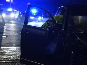 Man significantly bruised after overnight crash