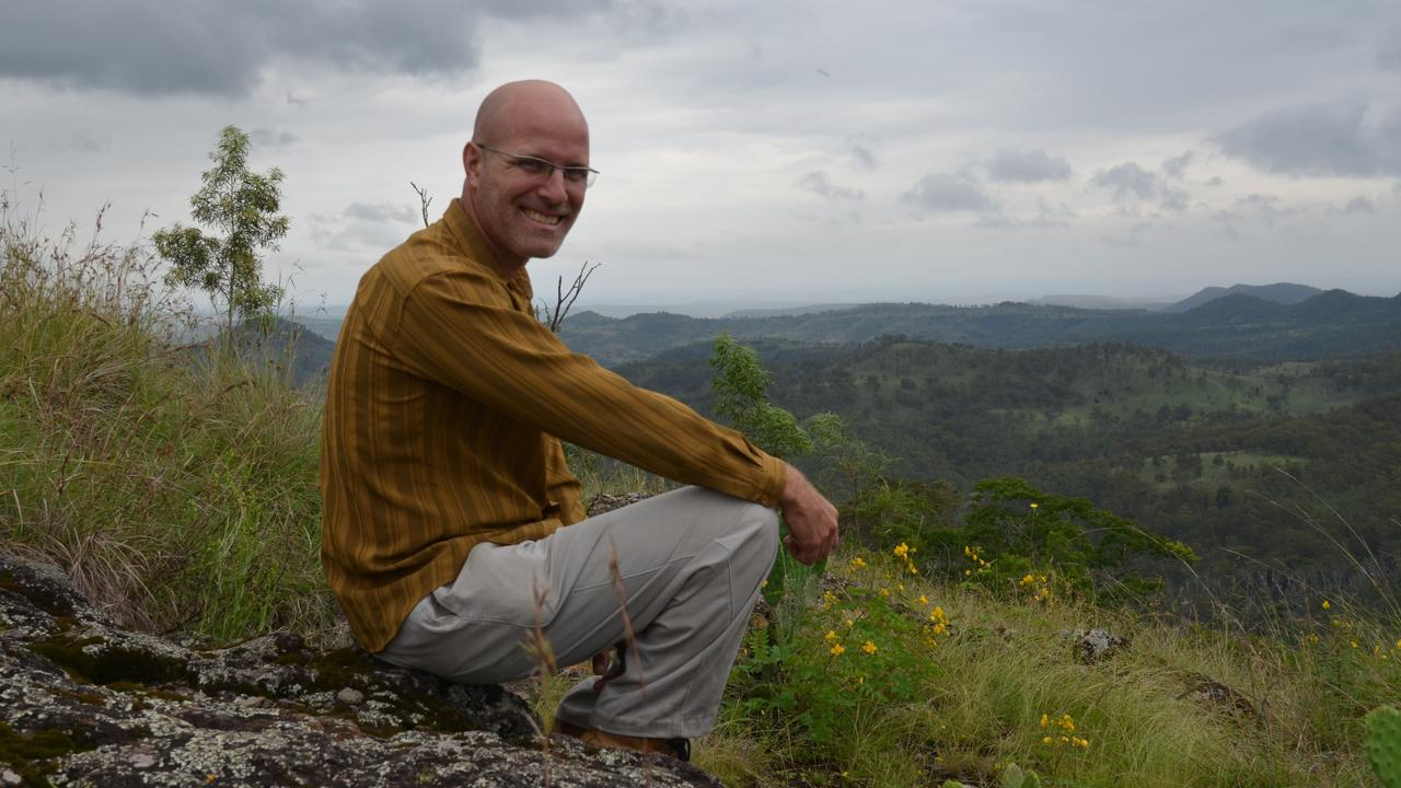 Conservationist and organiser of the online petition Bruce Thompson. Photo Barclay White
