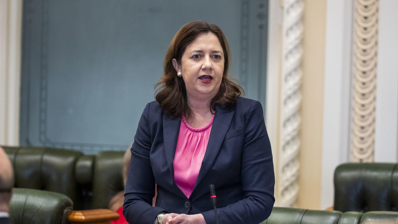 Queensland Premier Annastacia Palaszczuk (AAP Image/Glenn Hunt) NO ARCHIVING