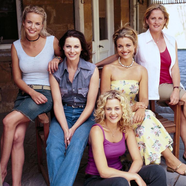 Cast members of McLeod's Daughters.