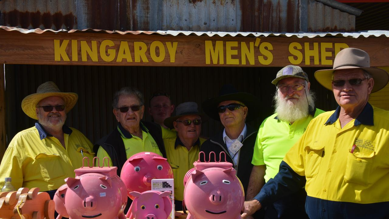 Kingaroy Men's Shed at the 2019 Bacon Fest.