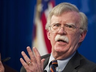 The Trump administration is suing former security advisor John Bolton.