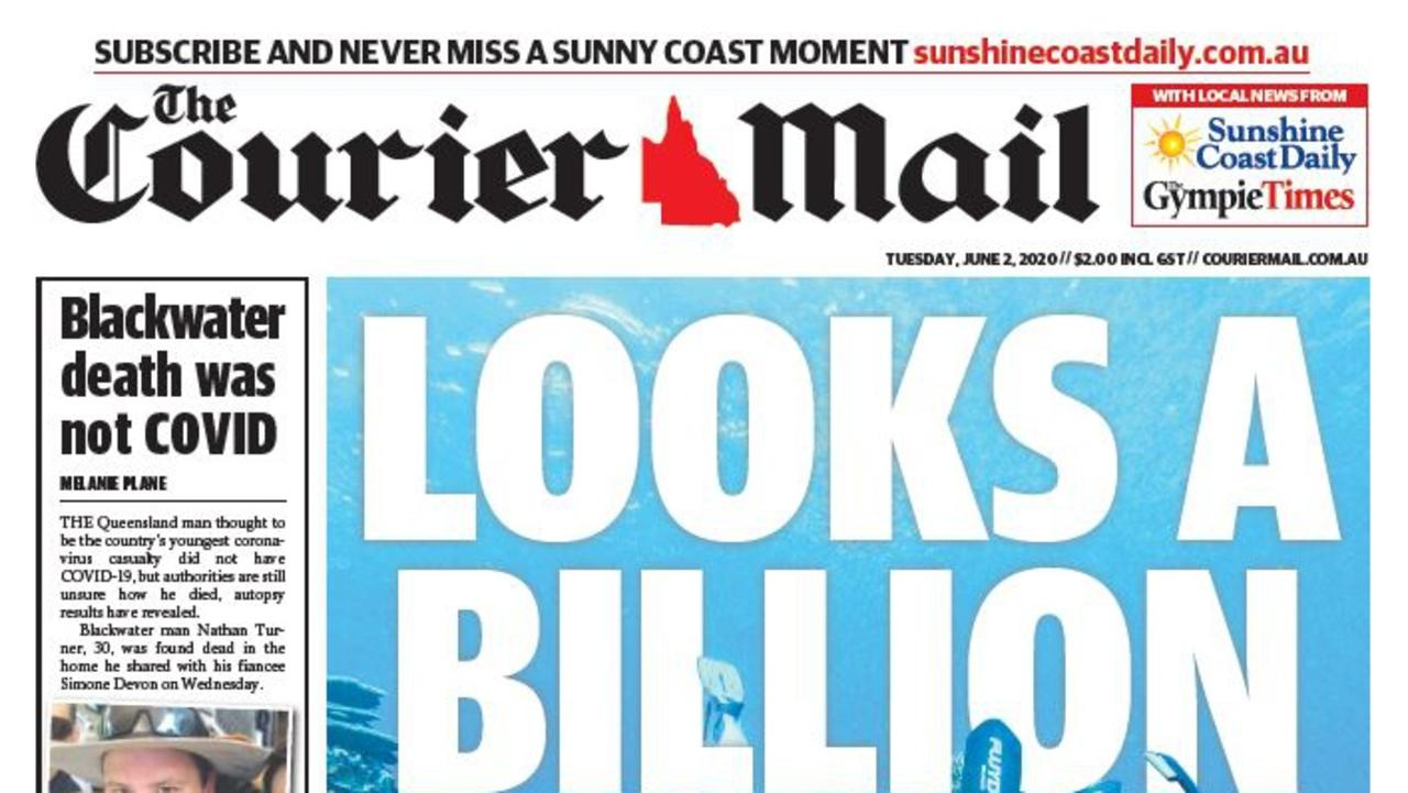 The Gympie Times' best stories will continue to appear in the Courier Mail publication five days a week.