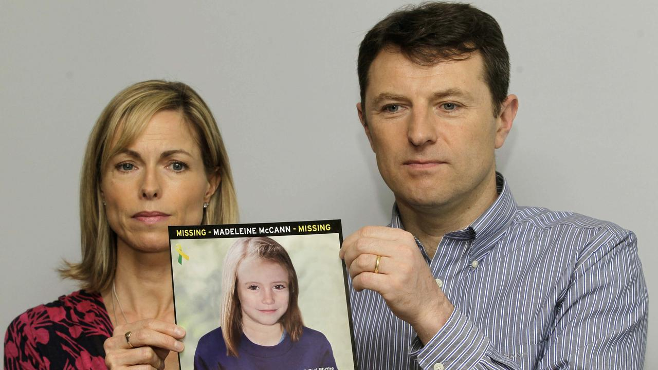 Madeleine McCann was three years old when she went missing in 2007. Picture: Supplied