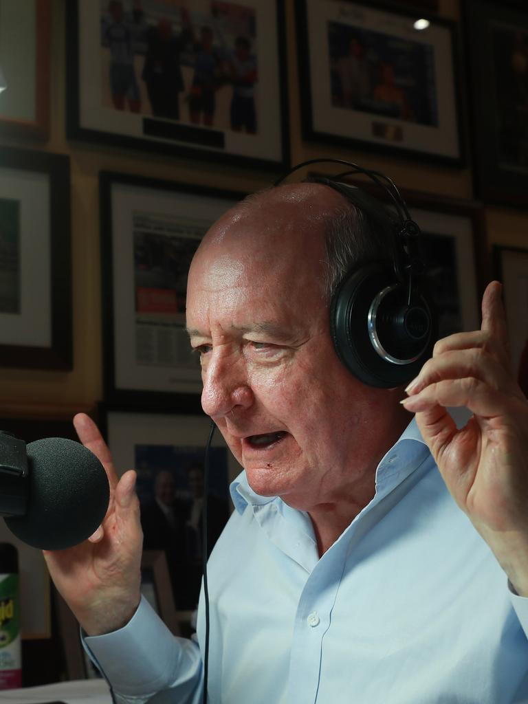 Former 2GB host Alan Jones has been a longstanding climate change sceptic. Picture: John Feder/The Australian