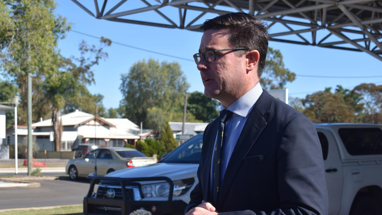 BIG BUCKS: Maranoa MP David Littleproud has pledged funding to upgrade roads in the Maranoa electorate.