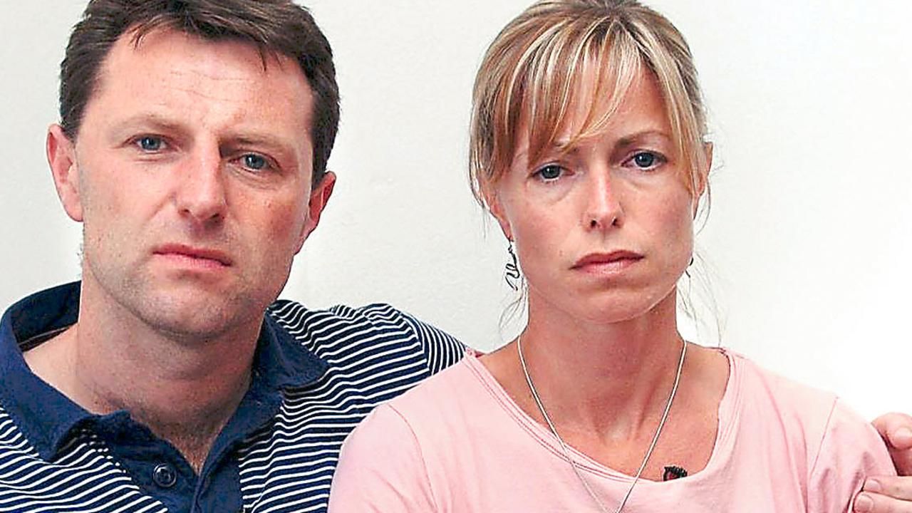 Madeleine McCann's parents say they have not been sent a letter informing them their daughter is dead. Picture: Supplied