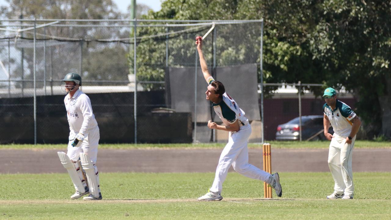 Cudgen fast bowler James Julius. Photo Ursula Bentley@CapturedAus