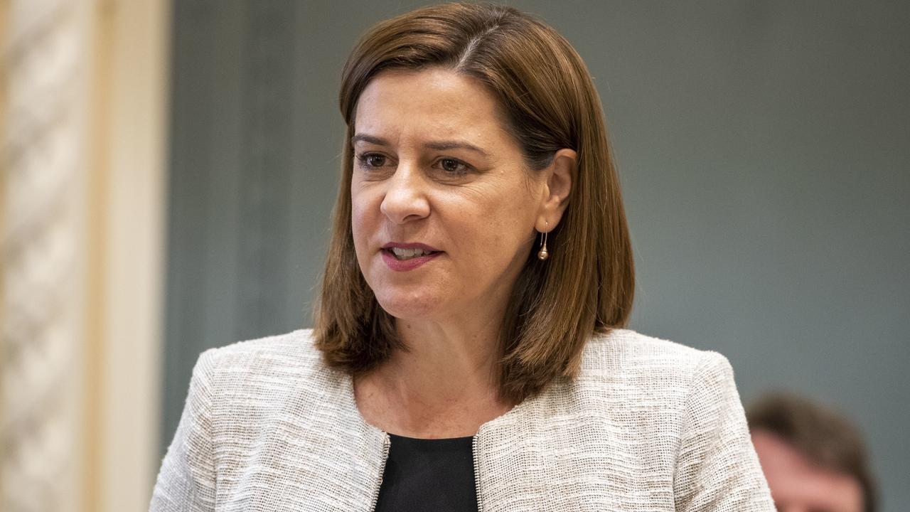 Queensland Opposition Leader Deb Frecklington. (AAP Image/Glenn Hunt)