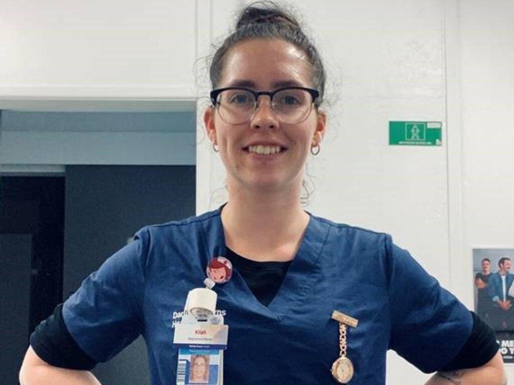 Meet Kilah Coutts, a registered nurse at Kingaroy Hospital. Photo: Darling Downs Health
