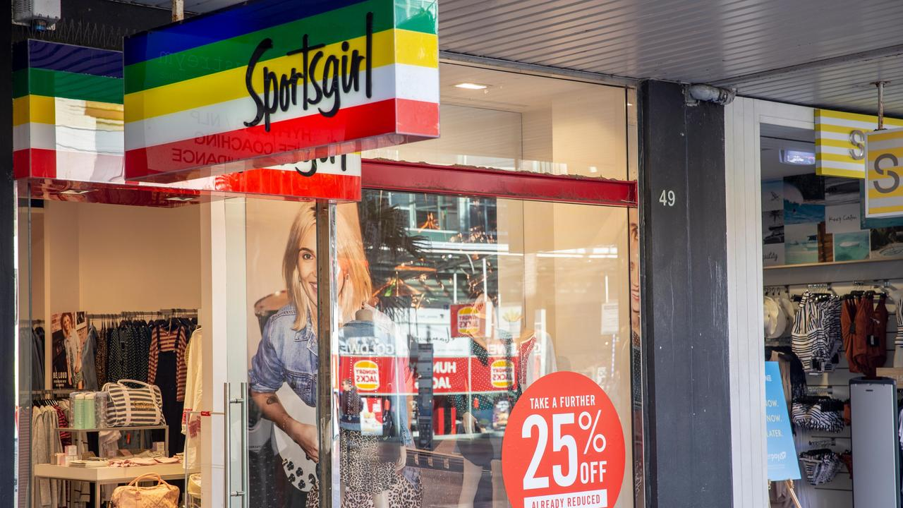 Sportsgirl, owned by Sussan, is also keeping some of its branches closed.