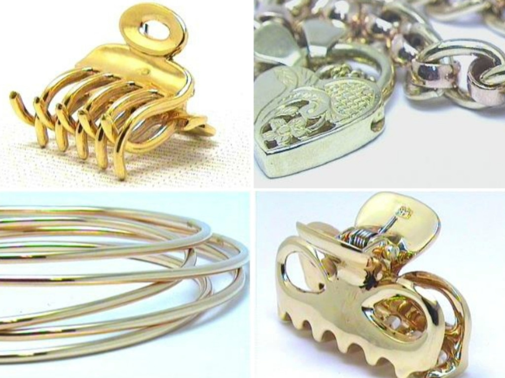 Examples of Ann Marie Smith's custom-made jewellery, which has gone missing from her home.