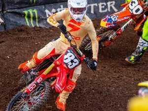 Teen targets finals after breakthrough Supercross display