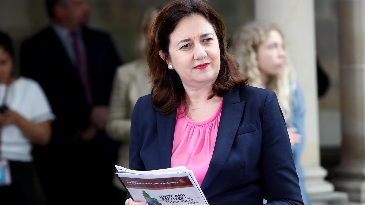 Queensland Premier Annastacia Palaszczuk says Queenslanders told her they don't want the borders reopened. Picture: Jono Searle/Getty Images