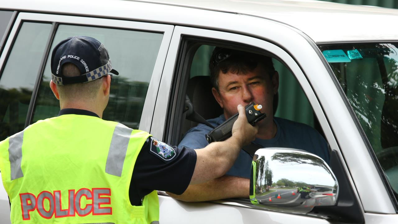 RBT SITES REOPEN: Gayndah's officer in charge Sergeant Don Auld has issued a grim warning to those wanting to drink-drive following the reopening of static RBT sites. Picture: Glenn Hampson
