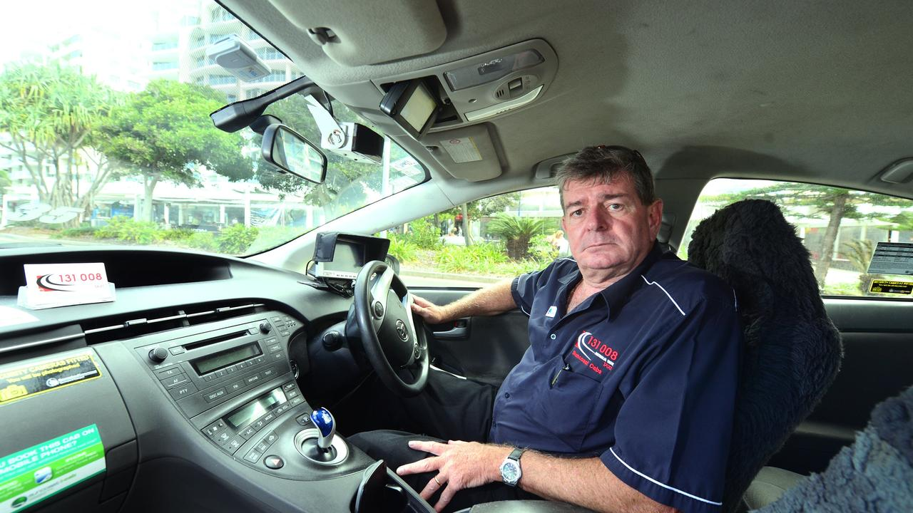 Suncoast Cabs director Clark Chappel. Photo: John McCutcheon / Sunshine Coast Daily