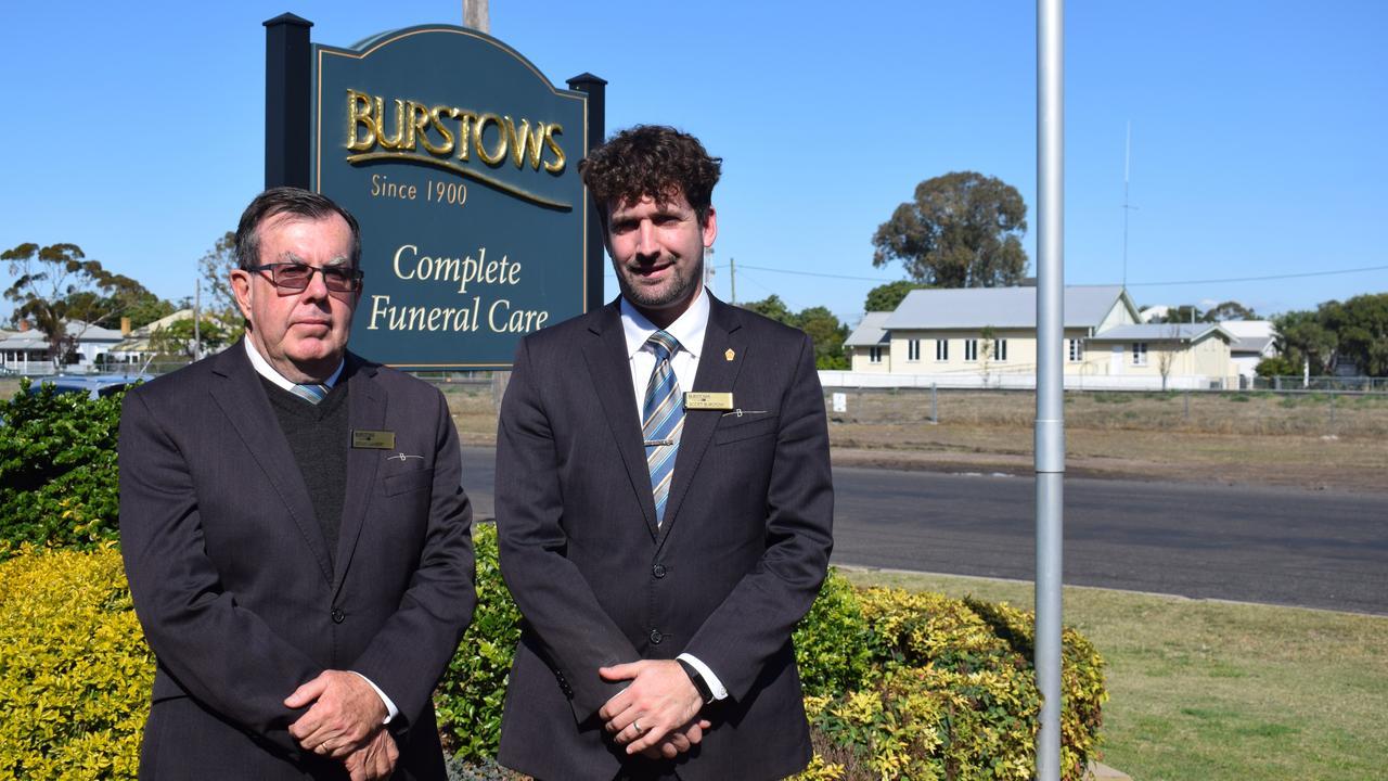 TIME TO GRIEVE: Bryan Lambert and Scott Burstow