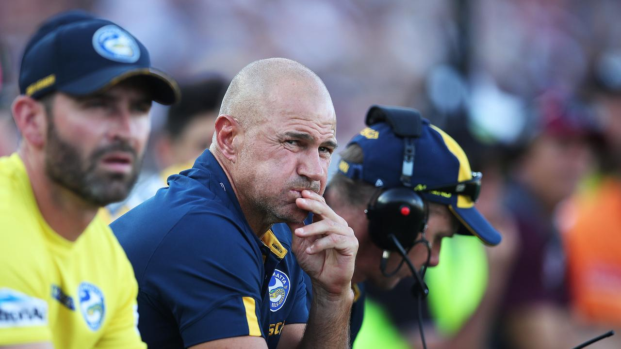 The Eels were a basket case when coach Brad Arthur took over at the club. Picture: Phil Hillyard