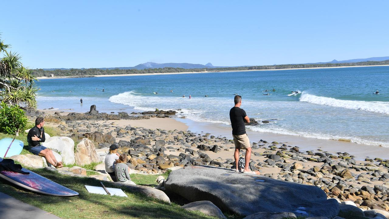 OUT AND ABOUT: People enjoying their new freedom at Noosa National Park after lockdown restrictions were eased. Photo: John McCutcheon