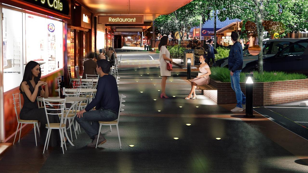 Artistic designs of the Kingaroy Revitalisation Project. Photo: South Burnett Regional Council