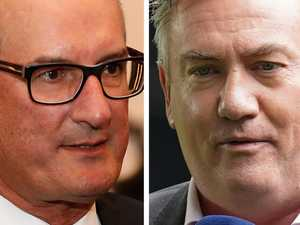 Kochie hits back at Eddie in fiery spat