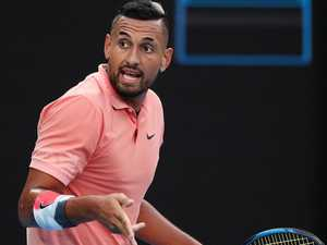 Disgusted Kyrgios clashes with Serena