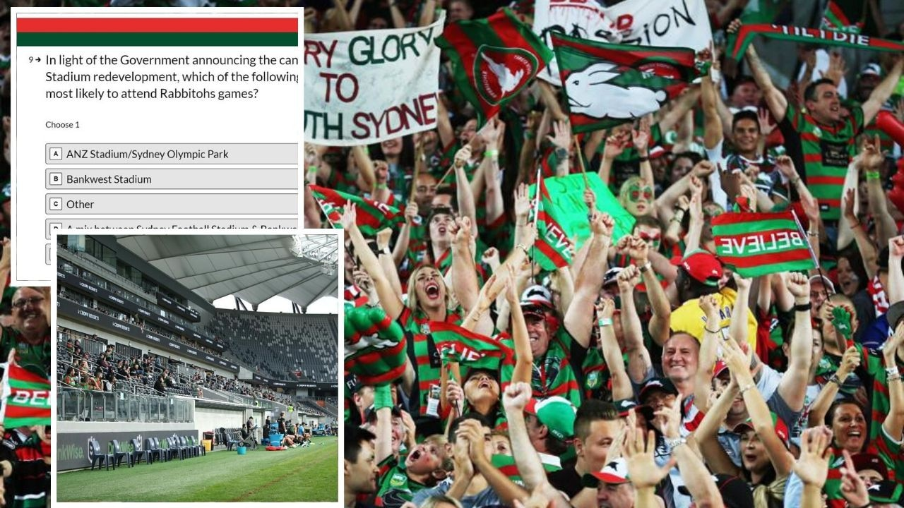 Rabbitohs fans will get to have their say on where the club plays its home matches.