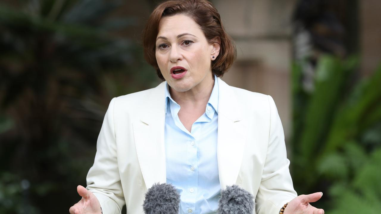 Former deputy premier Jackie Trad says poor paperwork protocols, not dishonesty, were to blame for the Gabba house purchase scandal. Picture: Peter Wallis