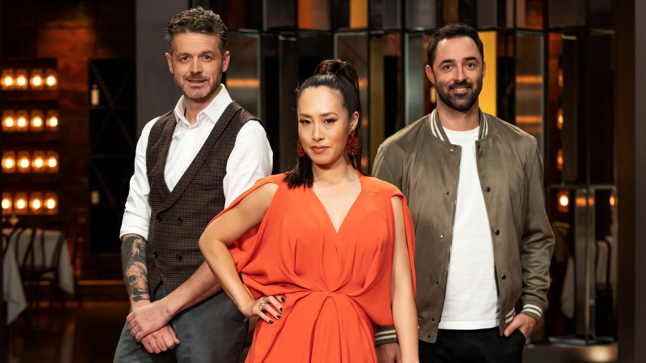 Jock, Melissa and Andy. Picture: MasterChef/Channel 10