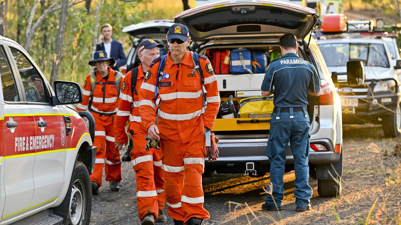 A woman aged in her 30s has been rescued from the bottom of a deep mine shaft after falling on Monday. Picture: Cordell Richardson