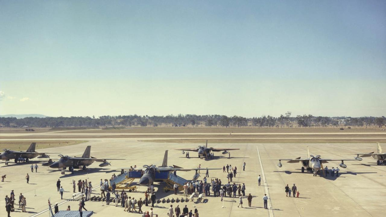 The arrival of the F-111 in June 1973 at RAAF Base Amberley.