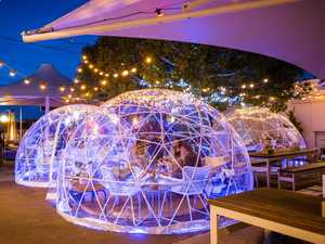 Igloo dining makes for perfect post-pandemic date